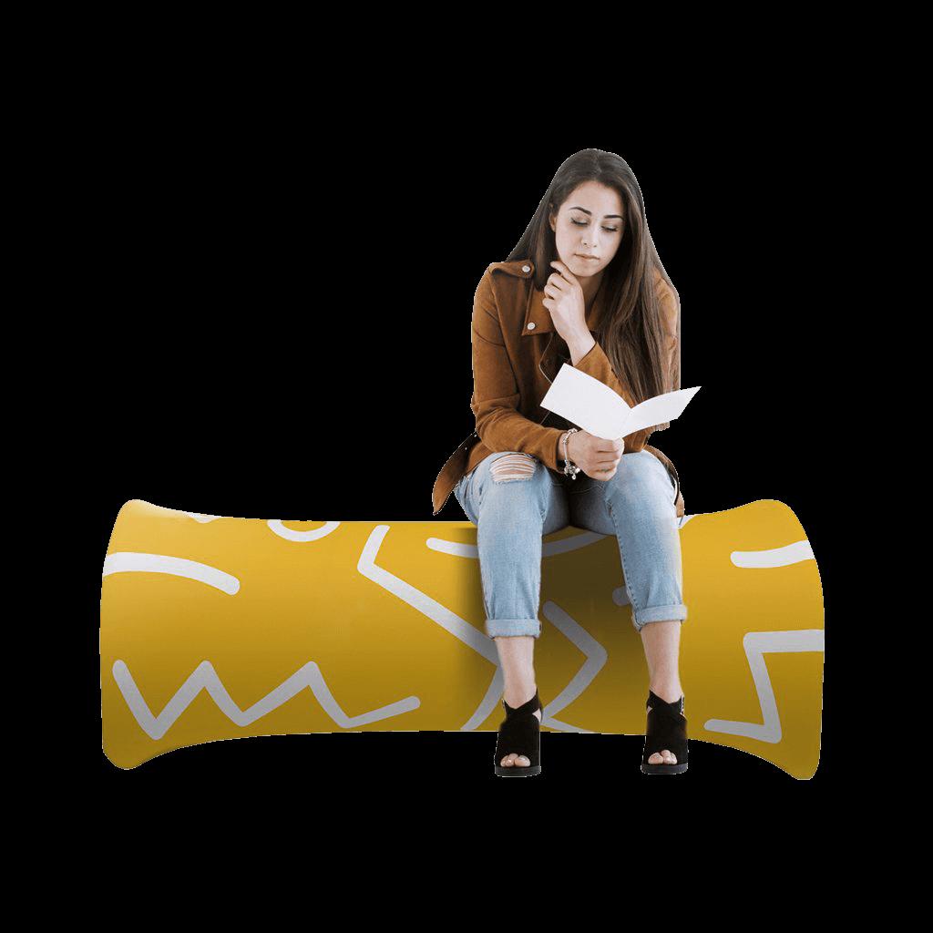 Waveline Inflatable Bench