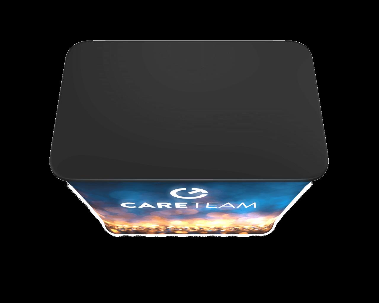 Wavelight Air Backlit Inflatable Counter - Rectangular