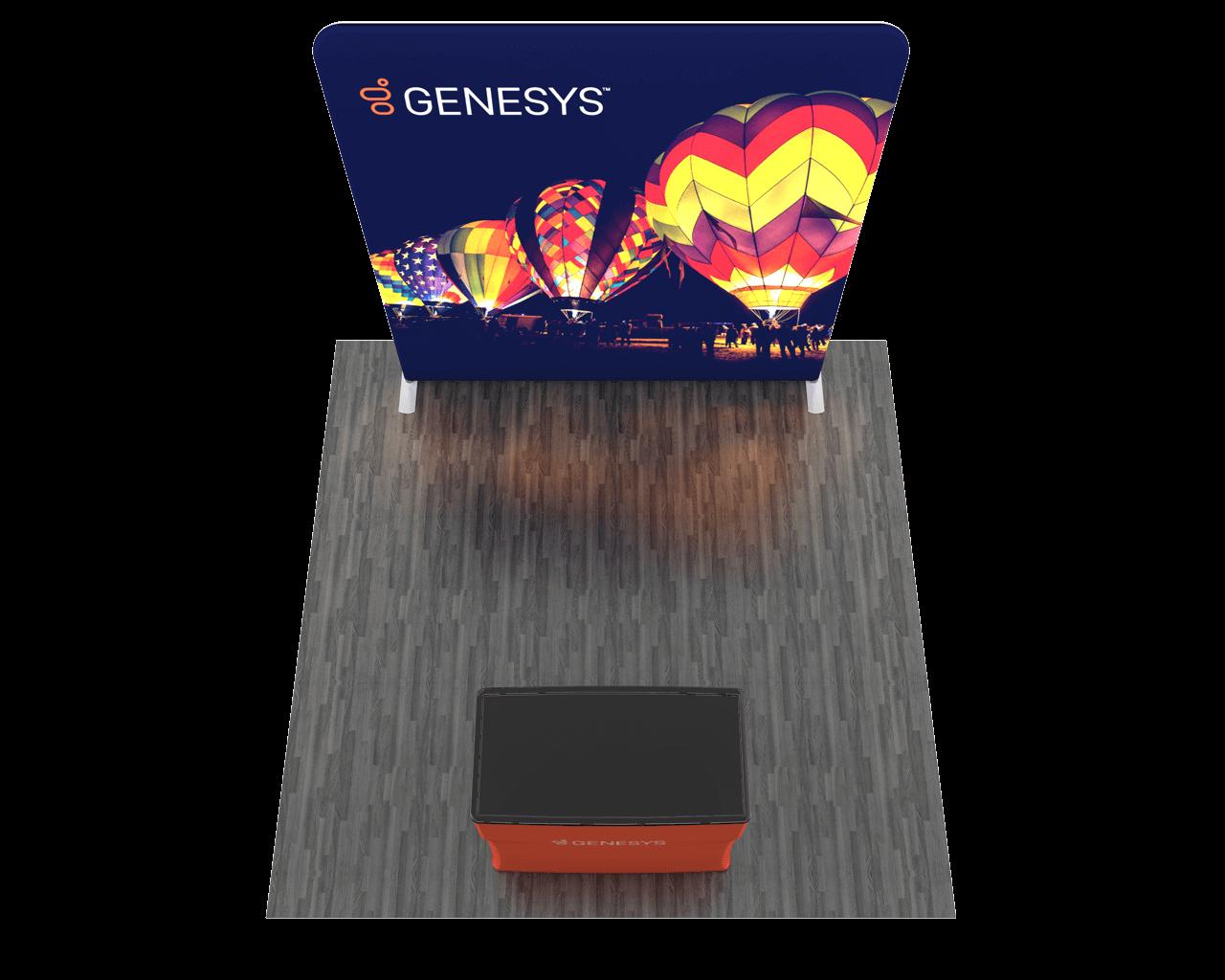 Wavelight Backlit 8ft Trade Show Display Kit