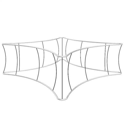 Blimp Quad Curved Hanging Sign Frame