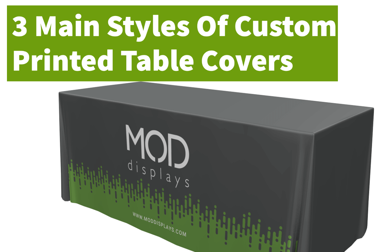 3 Main Styles Of Custom Printed Table Covers