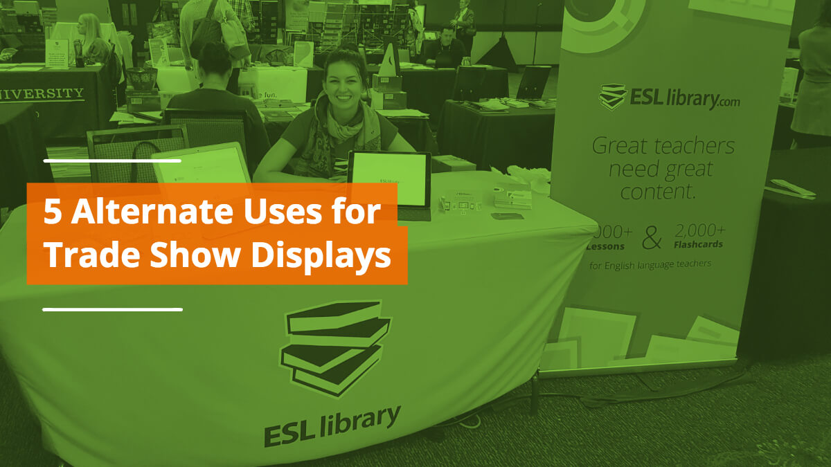5 Alternative Uses for Trade Show Displays