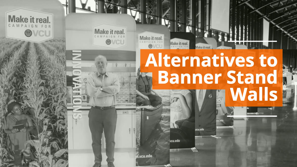 Alternatives to Banner Stand Walls