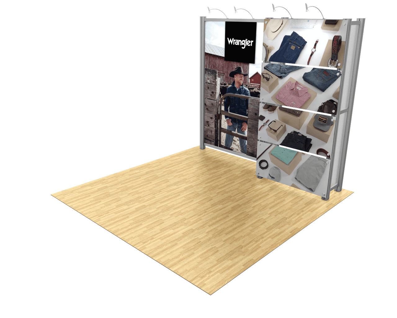 XVline XV5 10ft Trade Show Display Model