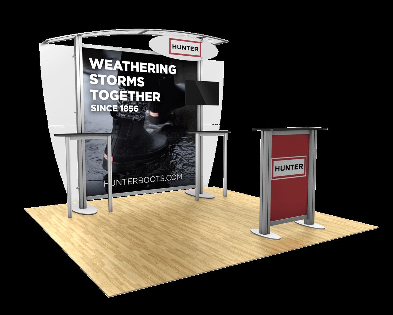 XVline Modular 10ft Trade Show Display Kit - 10.04