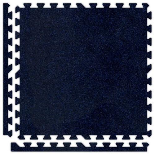 Premium Soft Carpet in Navy Blue