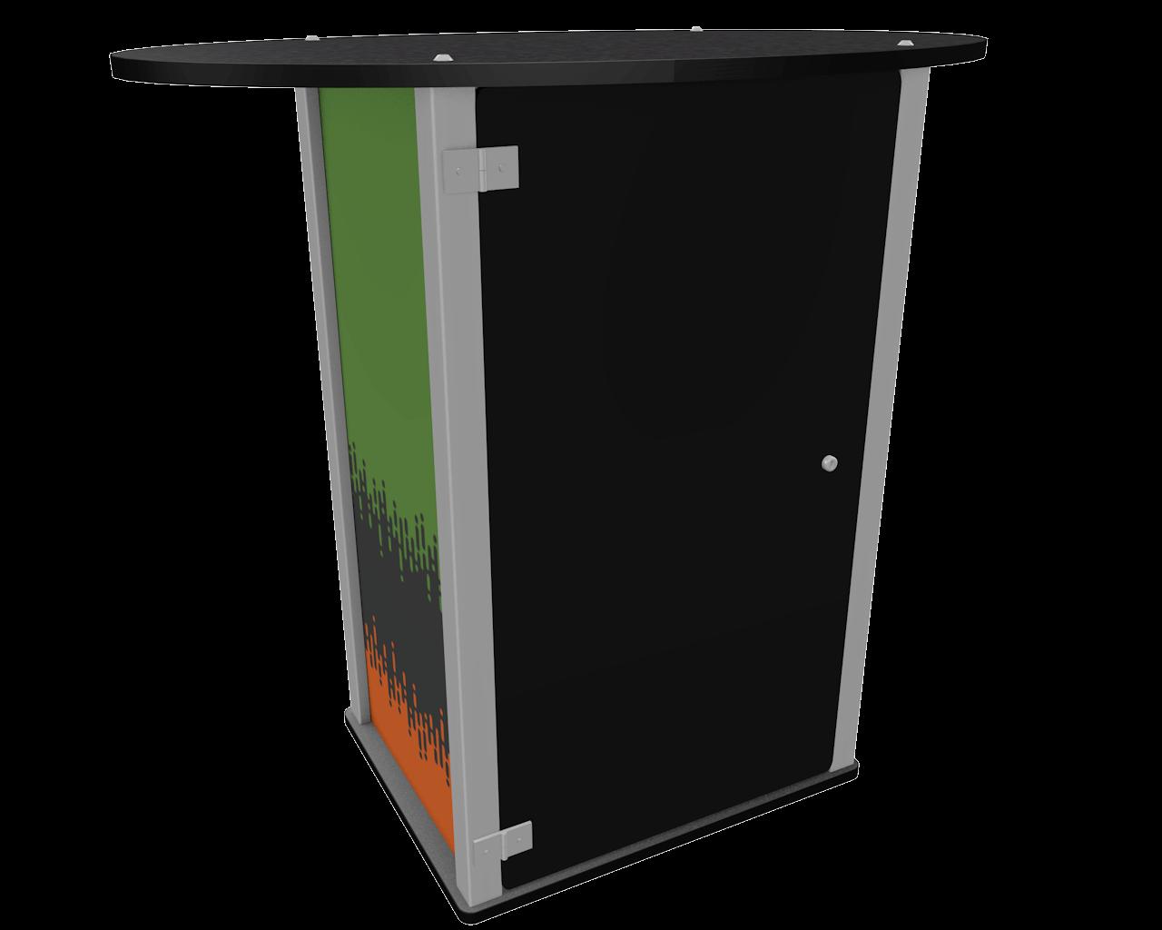 Exhibitline LC1-T2 Locking Counter