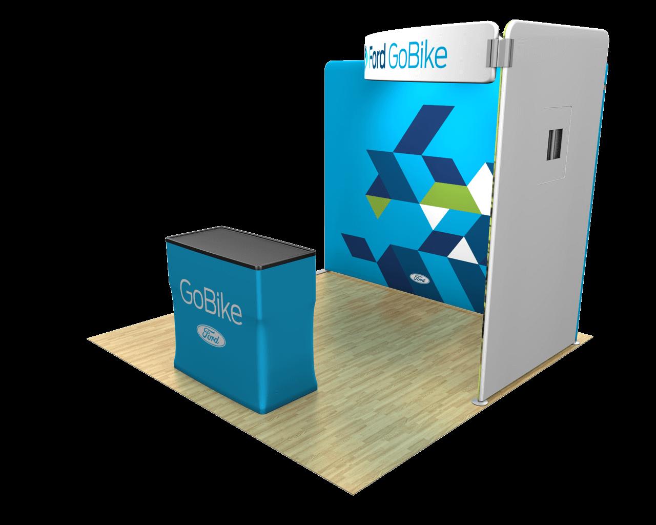 Waveline Media 10ft Trade Show Display Kit - 10.06