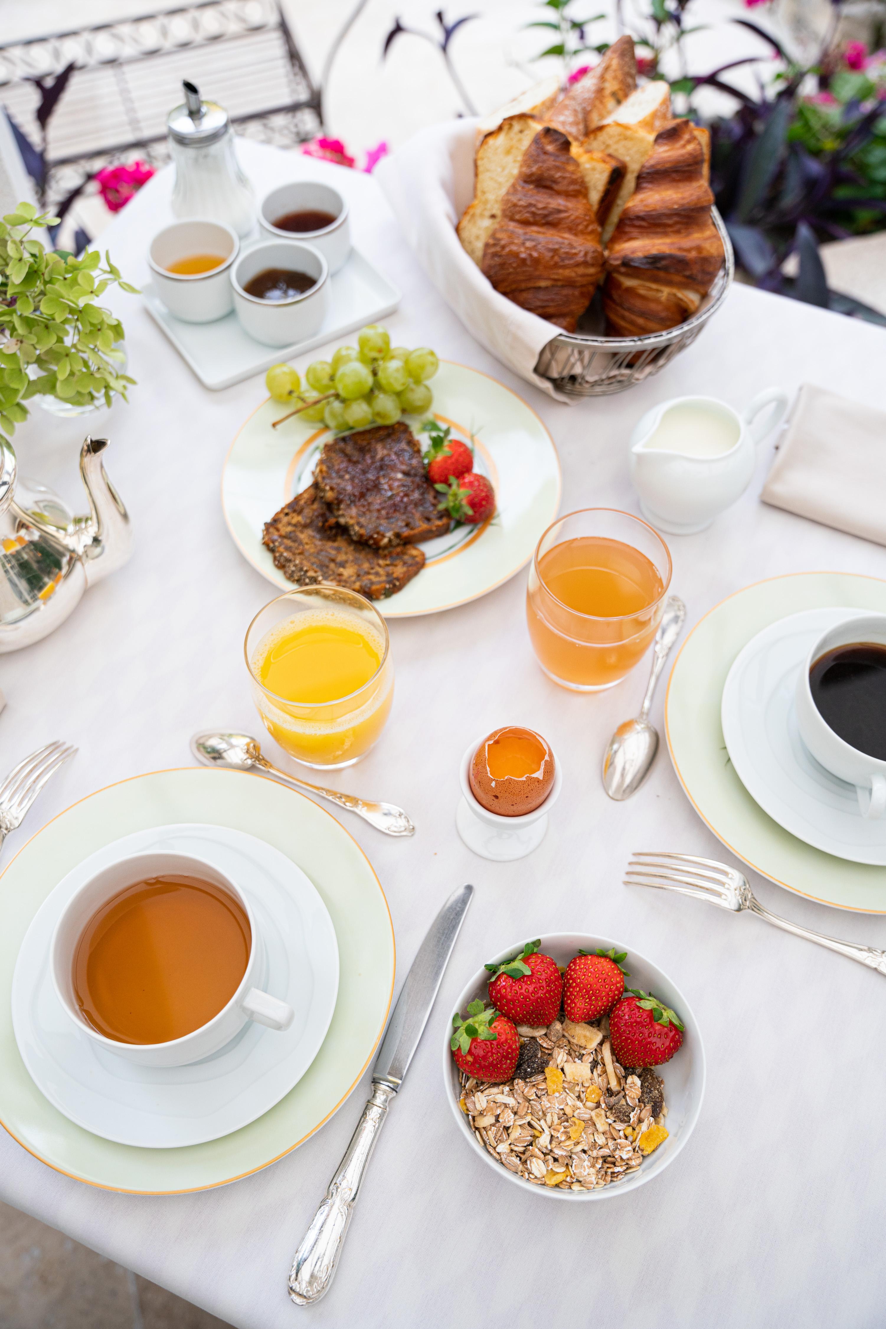 Le mardi, les petits déjeuners sont compris !