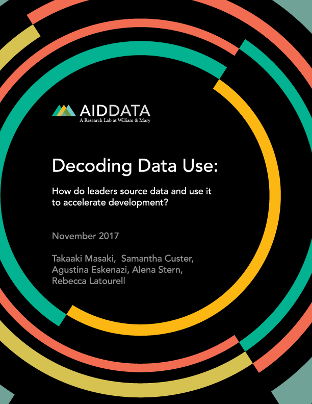 AidData | Decoding Data Use: How do leaders source data and use it