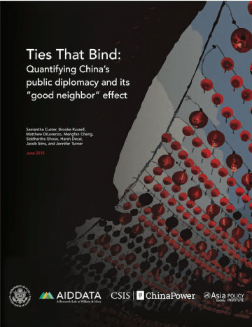 Chinese public diplomacy in East Asia and the Pacific: Is it
