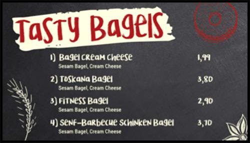 Digital Signage Content für eine Bäckerei