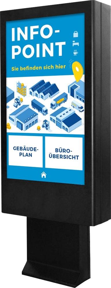Digitale Informationsstele für den Außenbereich, DOOH