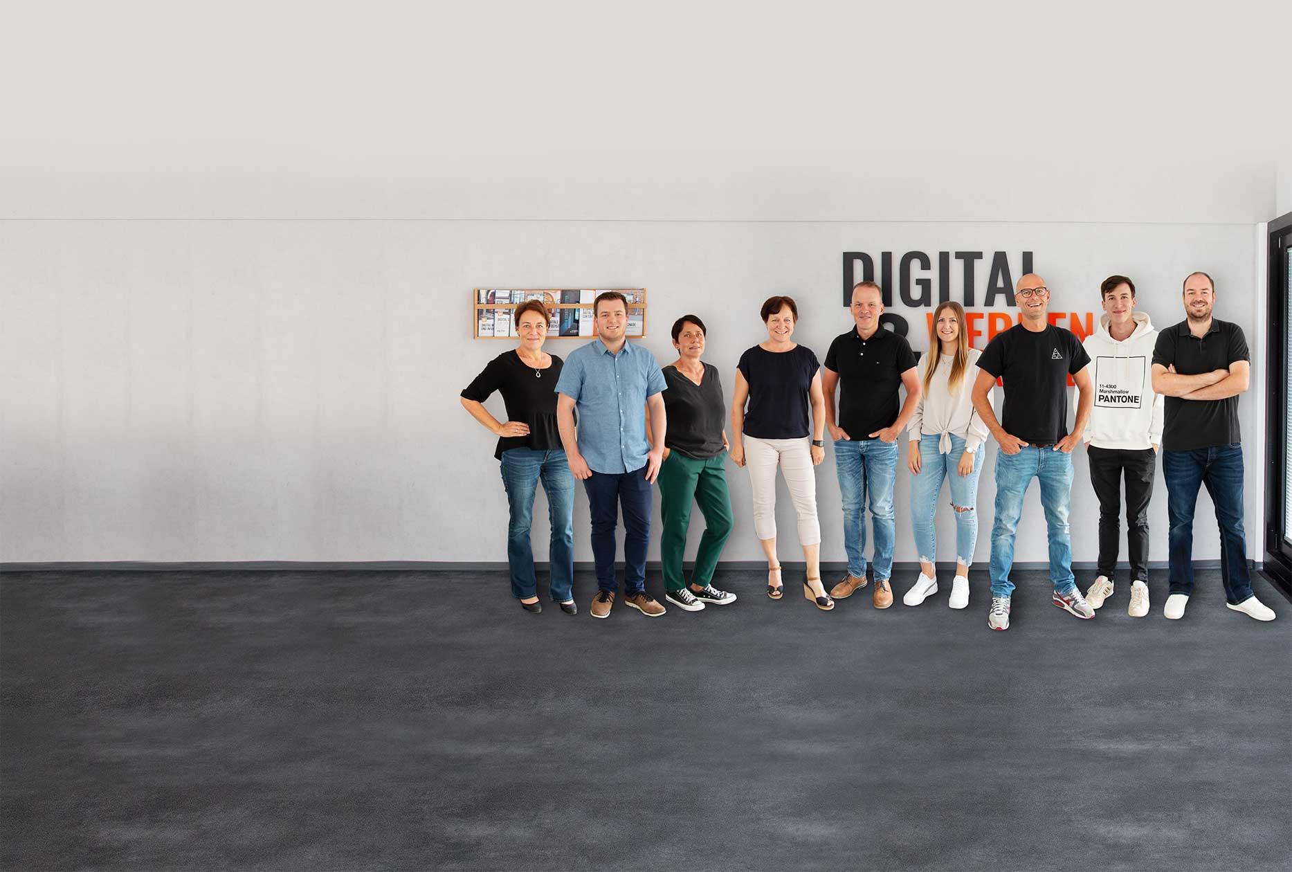 Das Team von Wedeko Digital Signage
