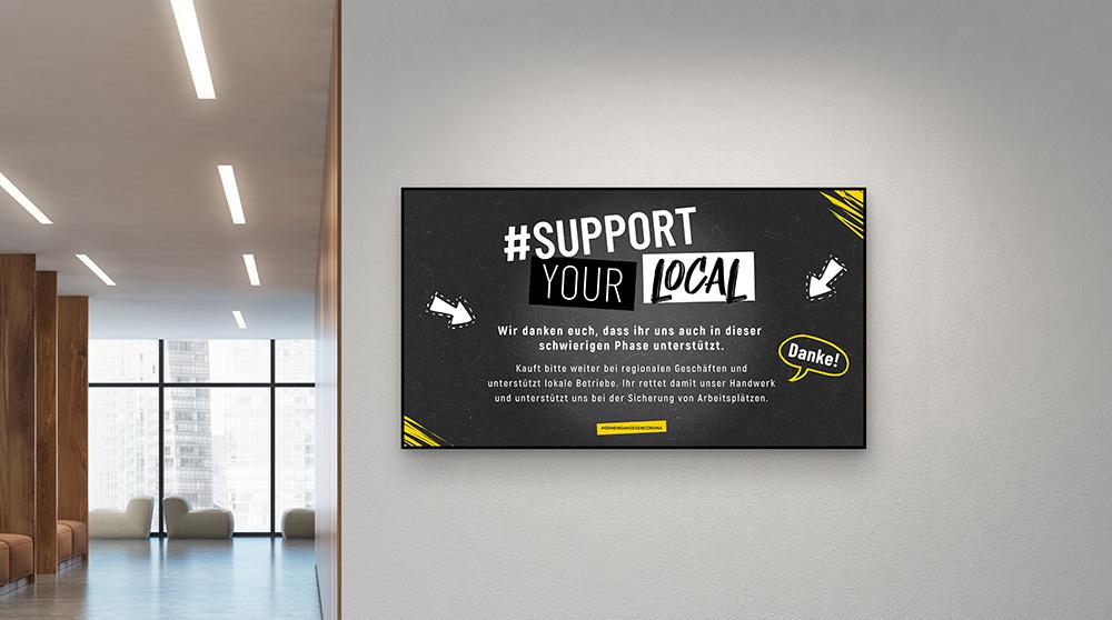 Wir möchten unseren Teil dazu beitragen viele Bürger über die Corona-Maßnahmen zu informieren. Nicht nur für Wedeko-Kunden...