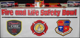Fire and Safety Bowl Banner