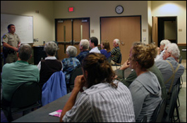 Sheriff's Office holds community meeting
