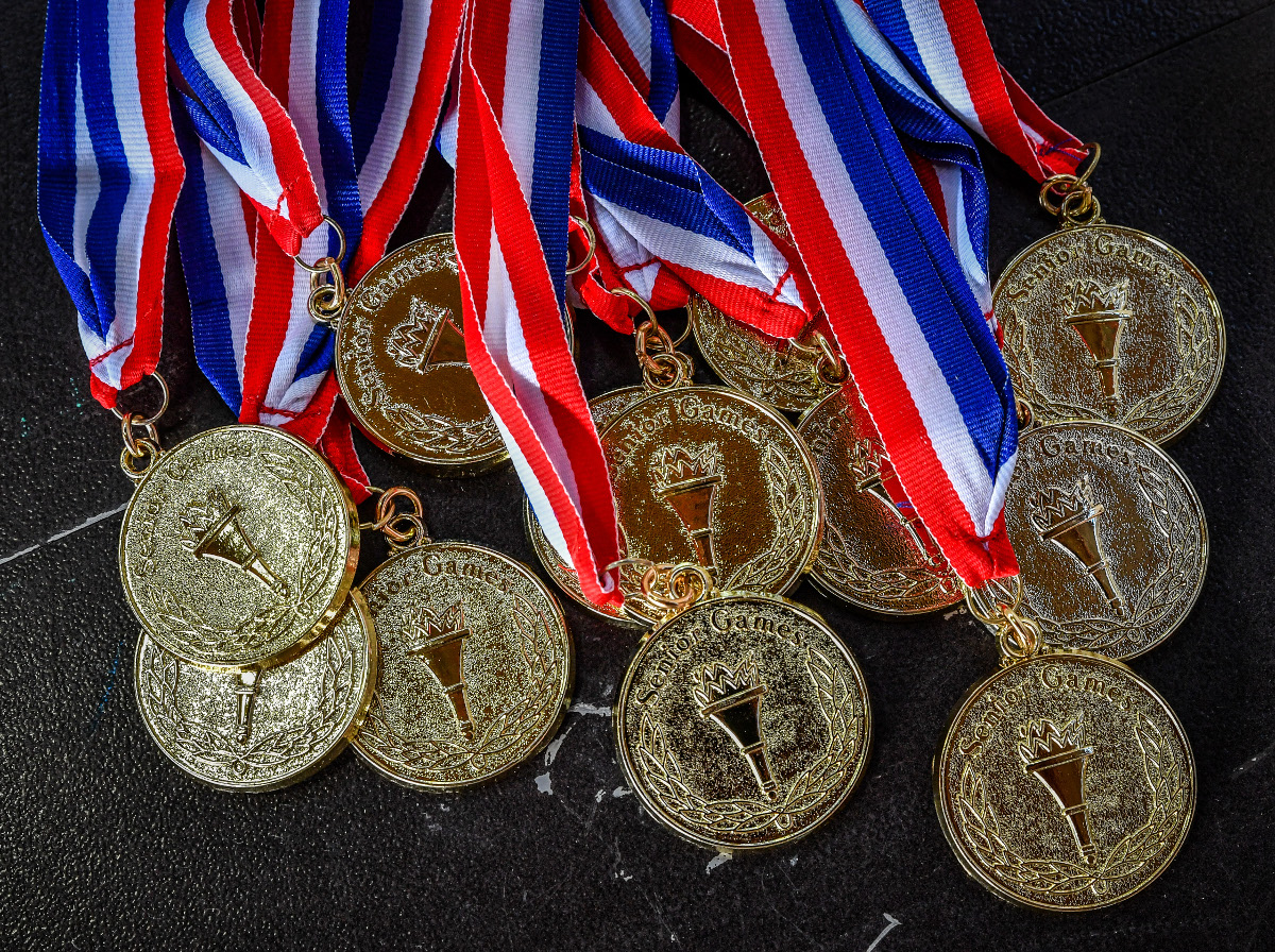 Metals from 2016 Senior Games