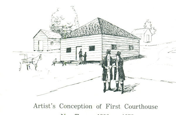 First Courthouse in Cabarrus County