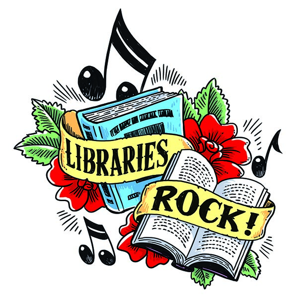 Libraries Rock! Summer Reading Program theme