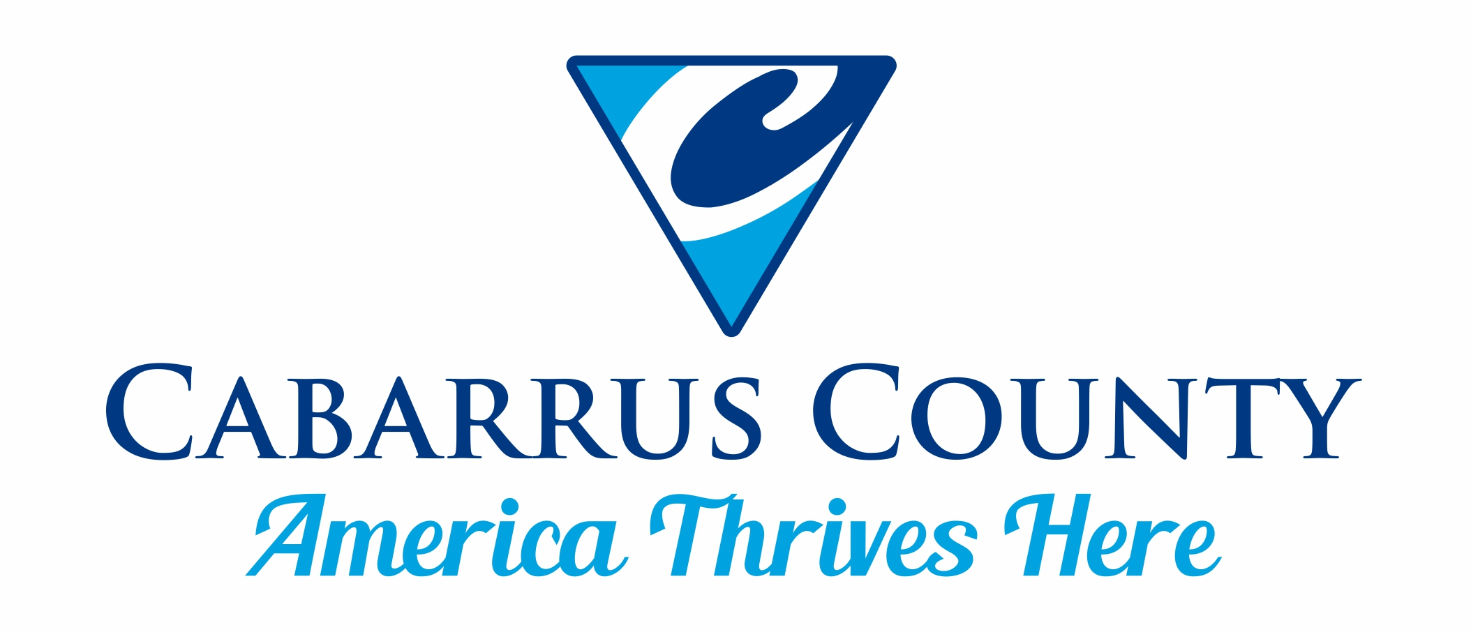 Cabarrus County Brand Logo America Thrives Here