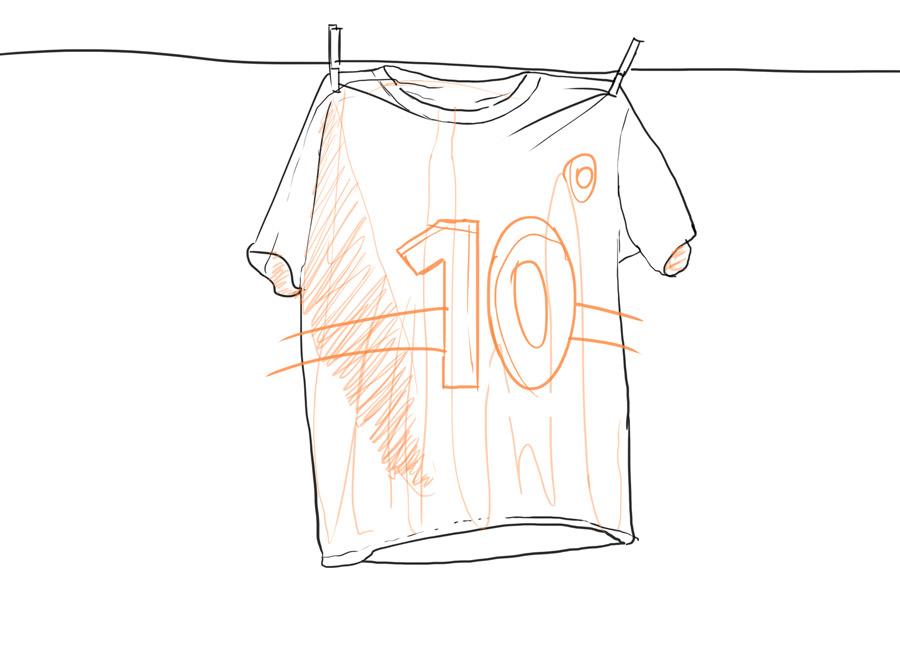 camisa 10 futebol, prove que você é melhor que a concorrência