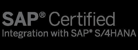 SAP Certified Integration with SAP S/4HANA Logo