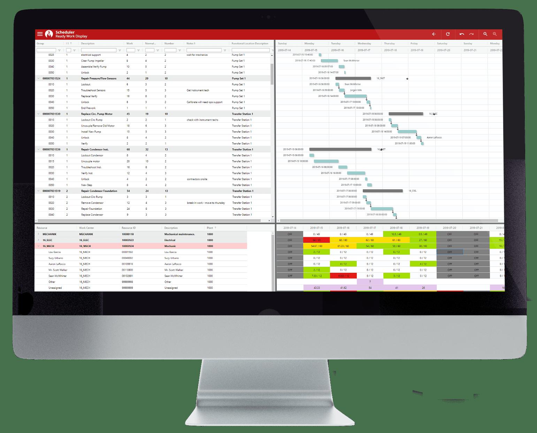 scheduler module screenshot