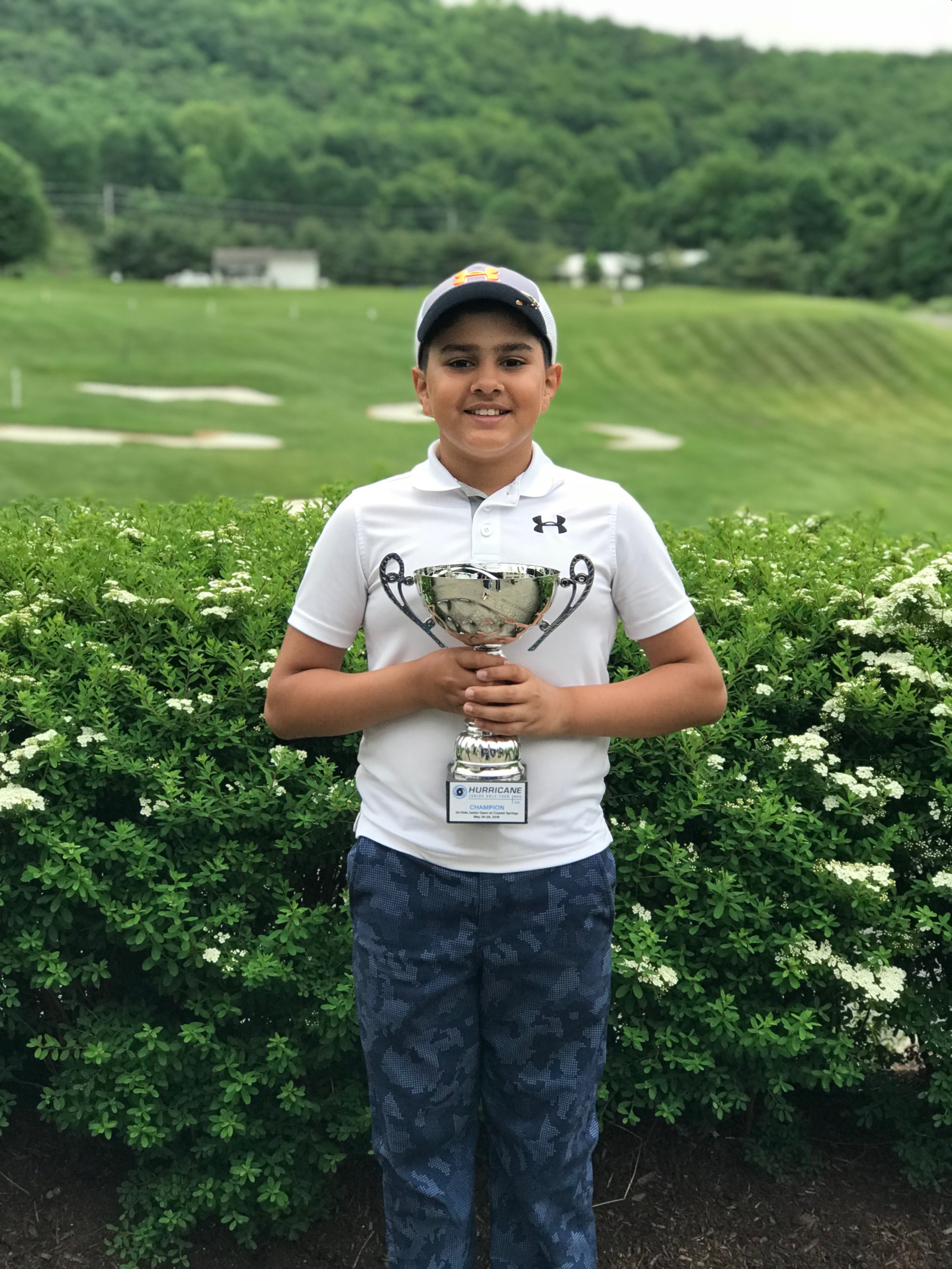 54 Hole Junior Open at Crystal Springs