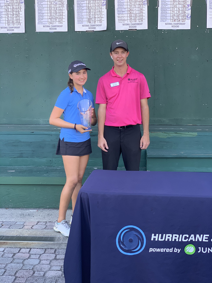 2019 HJGT Tournament of Champions Girls Under 13