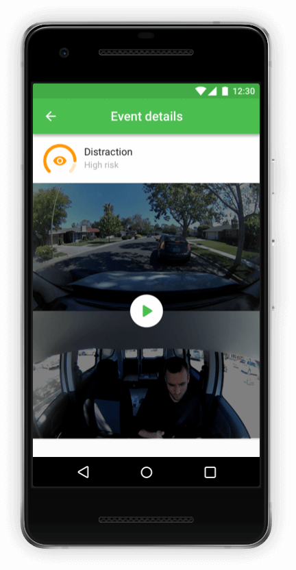 Driver App to Grow Fleet Safety screen 2