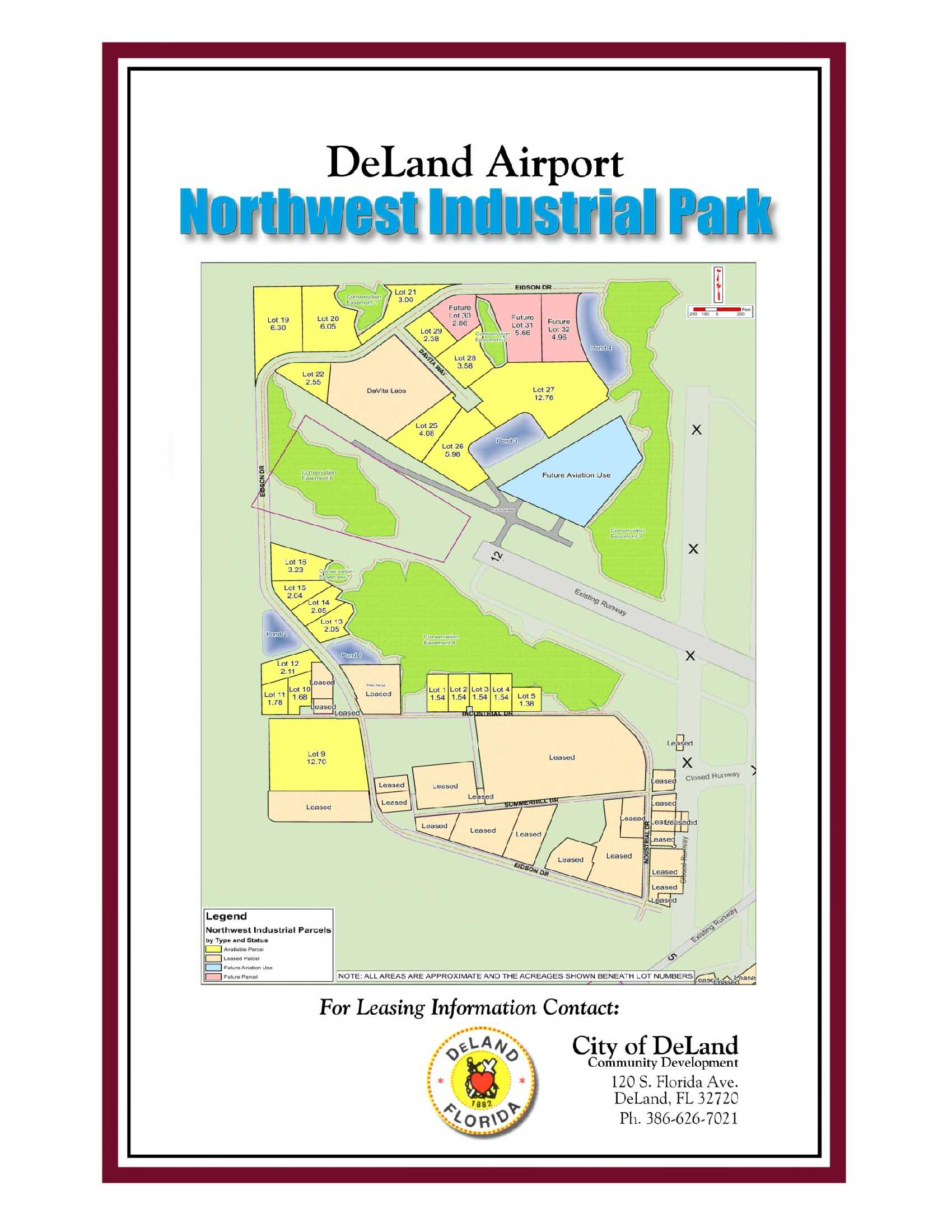 DeLand Airport Northwest Industrial Park
