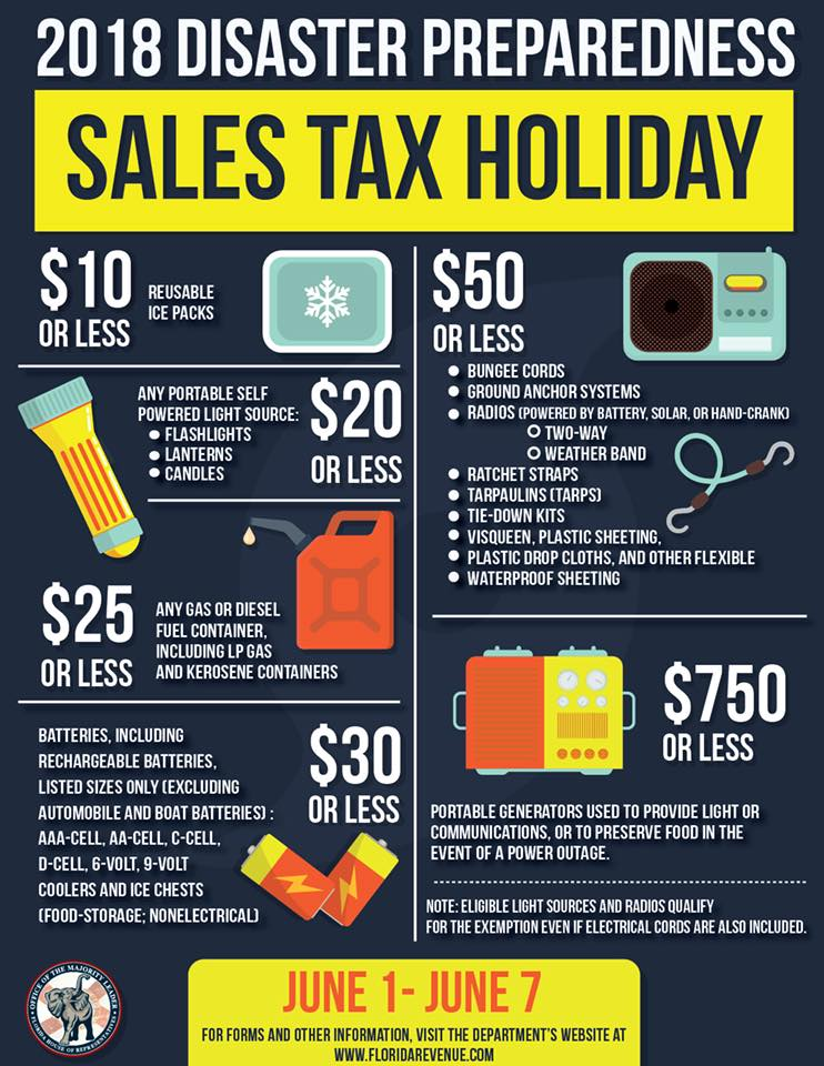Sales Tax Holiday Promo