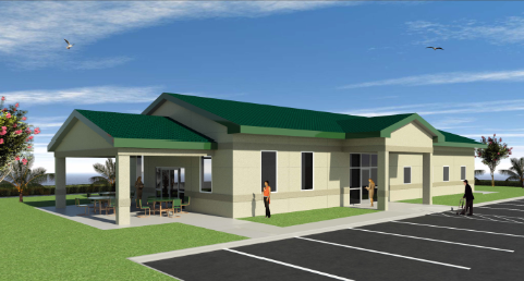 Rendering of the Dr. Joyce M. Cusakc Resource Center