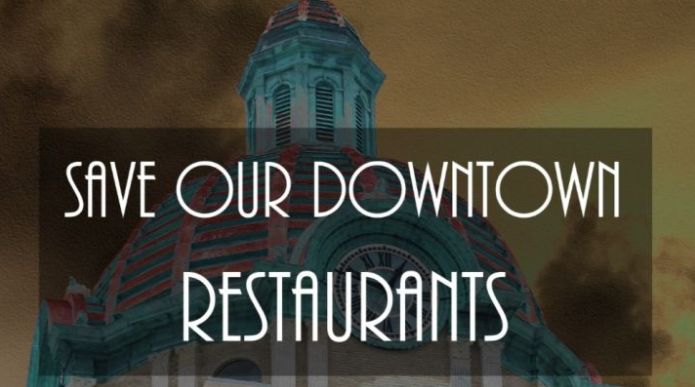 Save Our Downtown Restaurants Donation Page