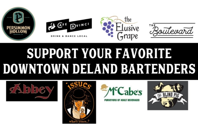 Support Downtown DeLand bartenders fund
