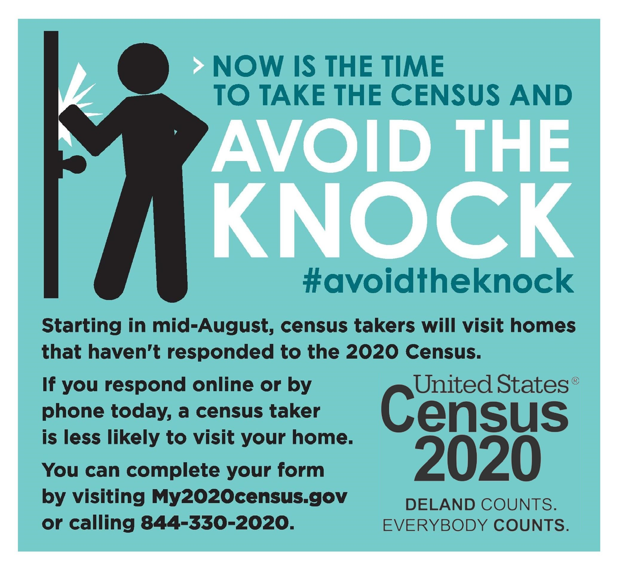 2020 Census - Avoid the Knock