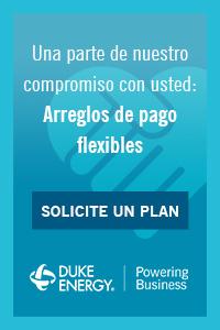 Duke Energy Arreglos de pago flexibles