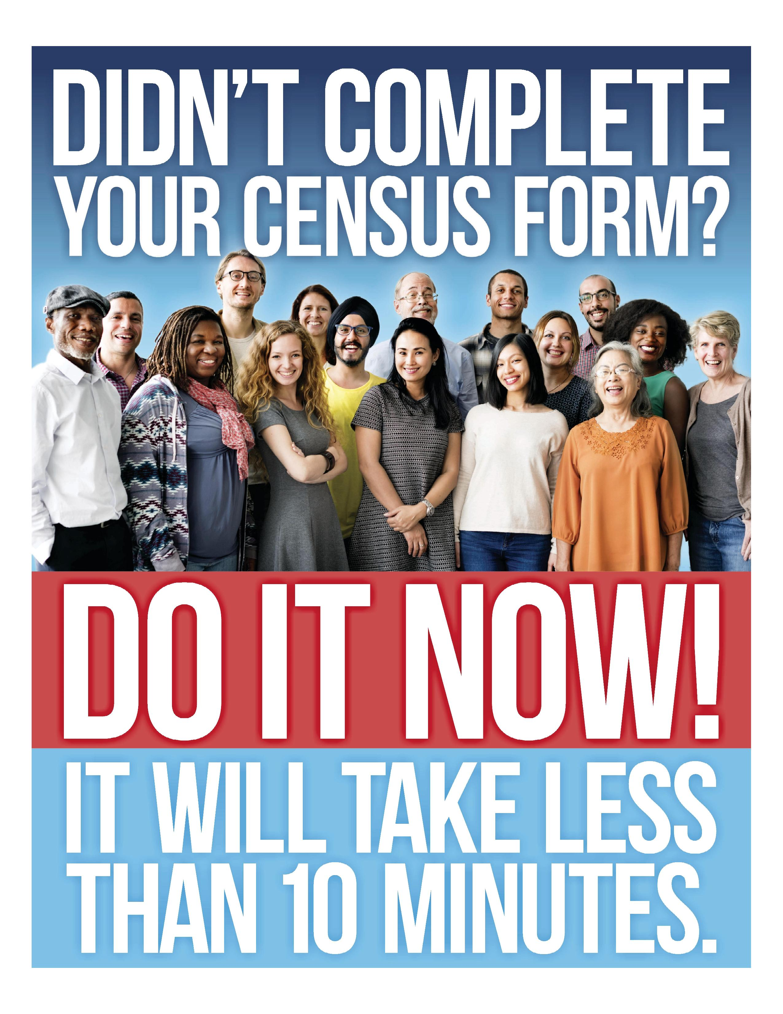 Didn't Complete Your Census Form?
