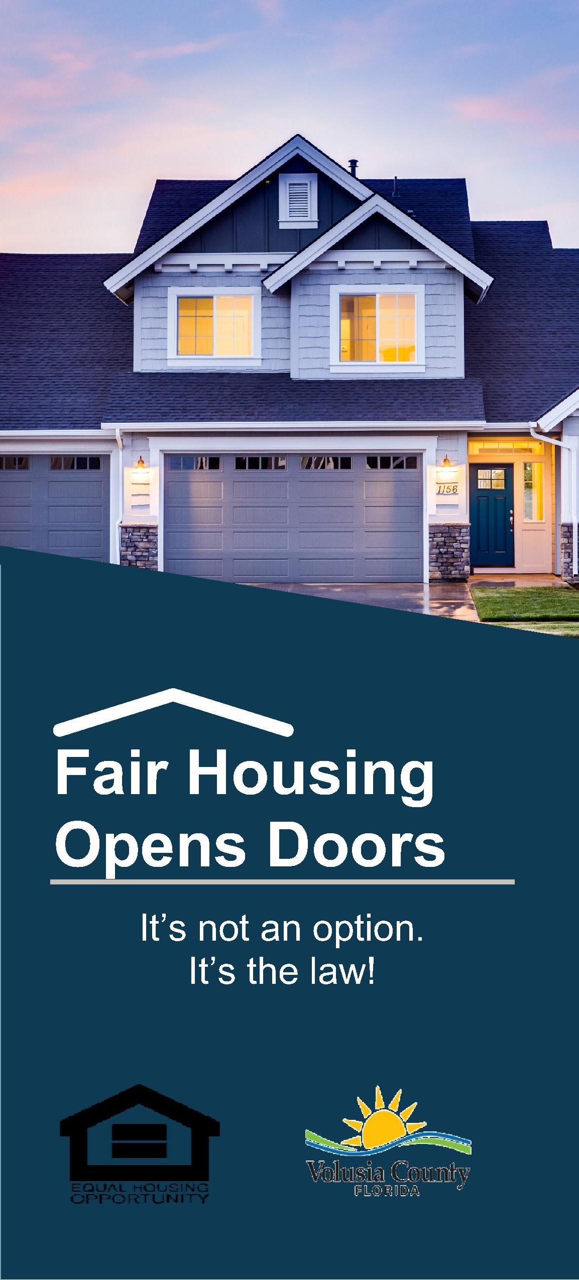 Fair Housing Opens Doors