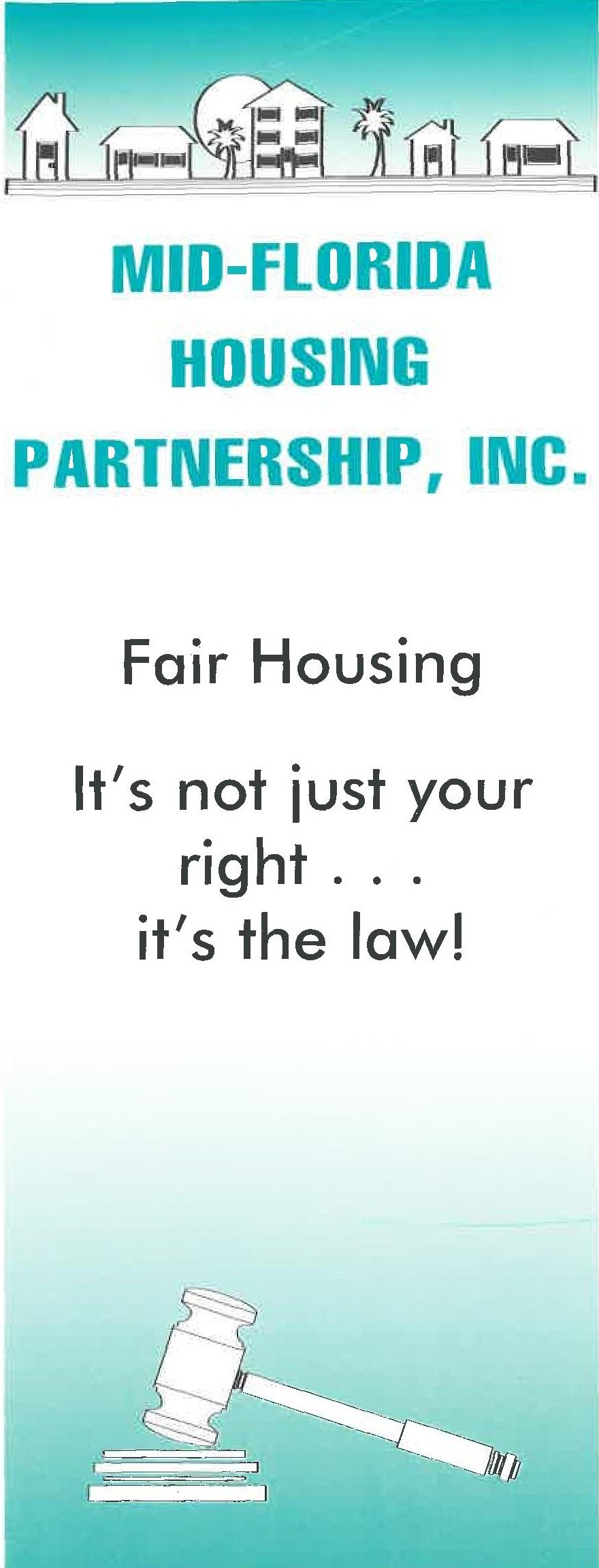 Fair Housing It's The Law