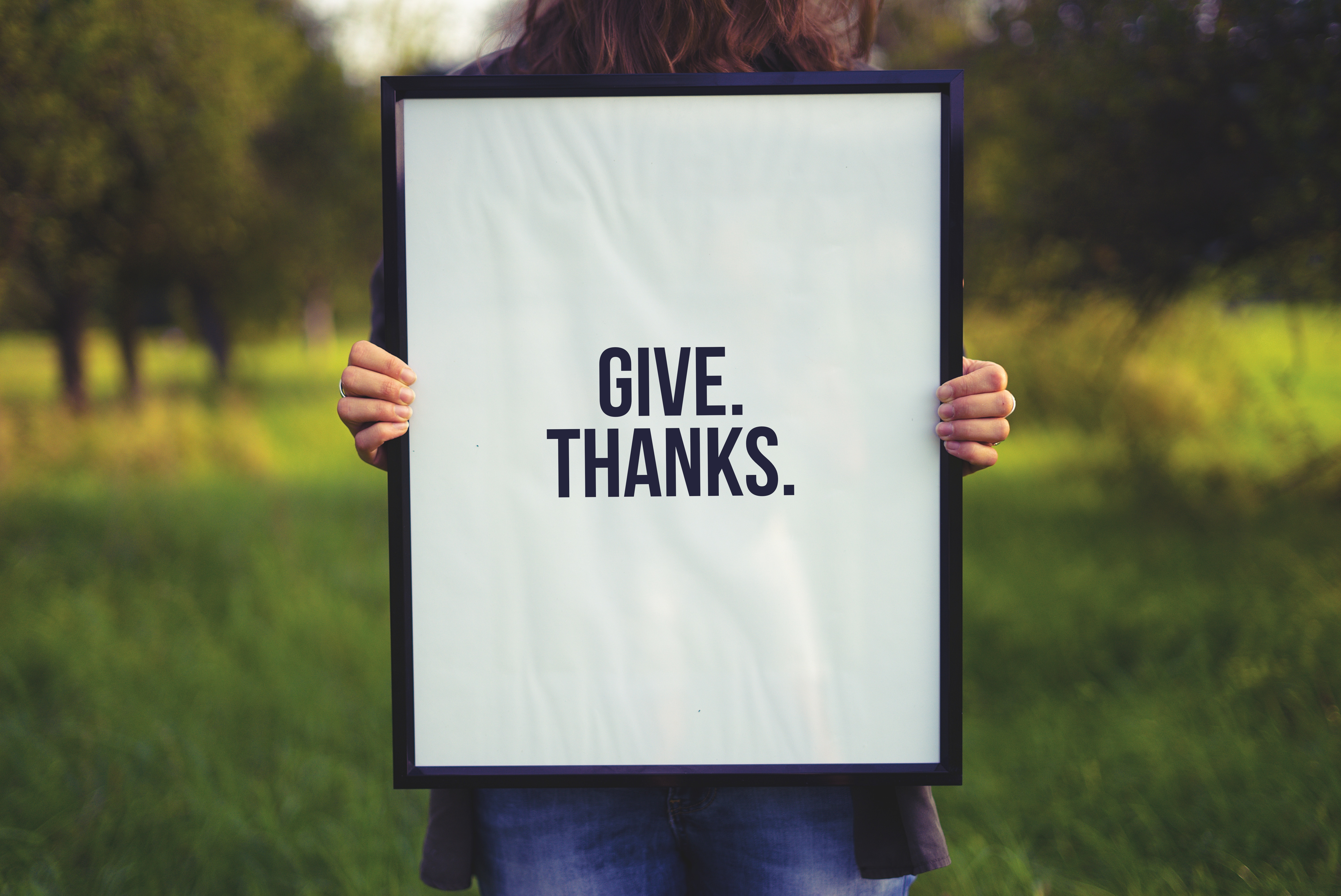 Experience Joy By Giving Thanks | Bible Verses About