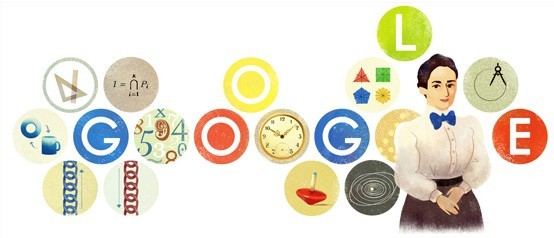 Emmy Noether - Google Doodle - SmarterU LMS - Learning Management System