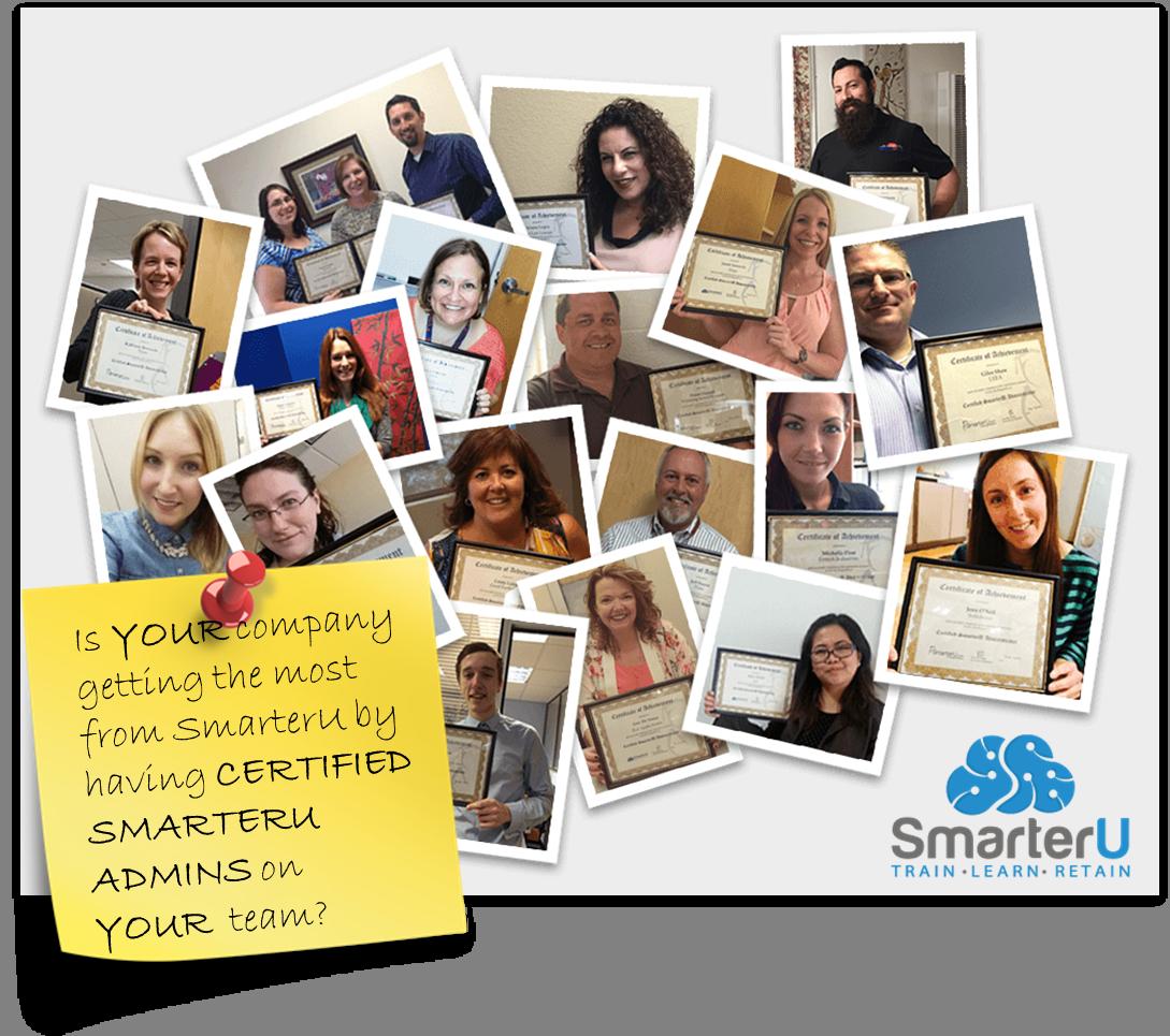 Are your SmarterU Admins Certified? - SmarterU LMS