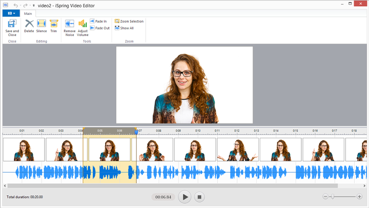 iSpring Integrated Audio & Video Editor - SmarterU LMS - Learning Management System