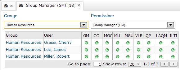 Groups by Permission - SmarterU LMS - Corporate Training