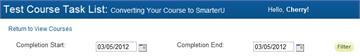 Quiz Report Dates - SmarterU LMS - Online Training Software
