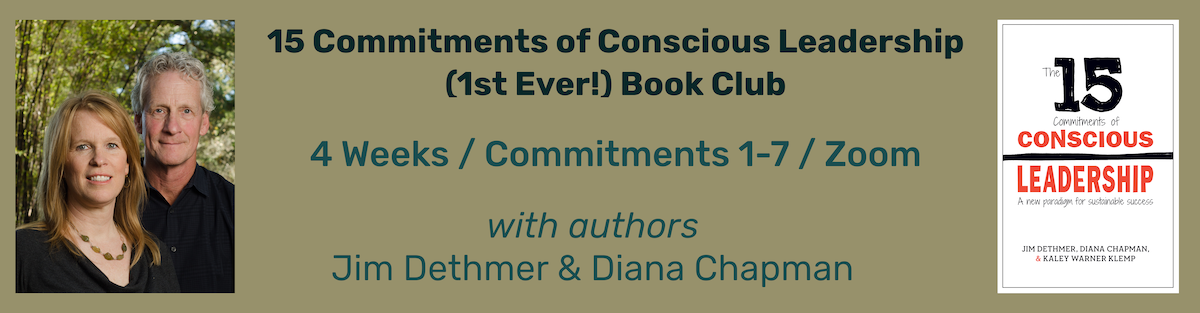 15 Commitments of Conscious Leadership Book Club Promo (with the authors)
