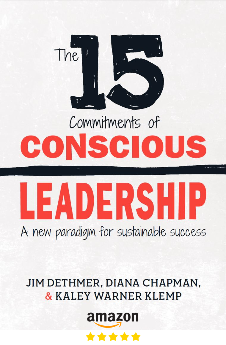 15 Commitments of Conscious Leadership Book Amazon Link