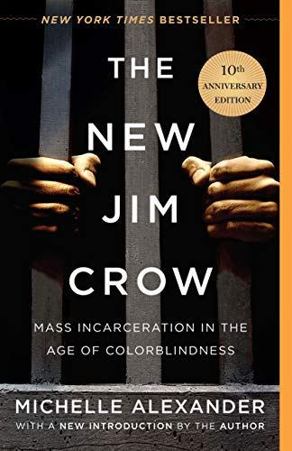 The New Jim Crow book covef